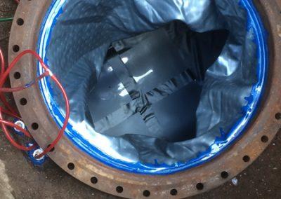 Tankinnenhüllen  Einbau1
